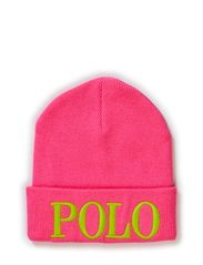 POLO EMB HAT - SHOCKING PINK