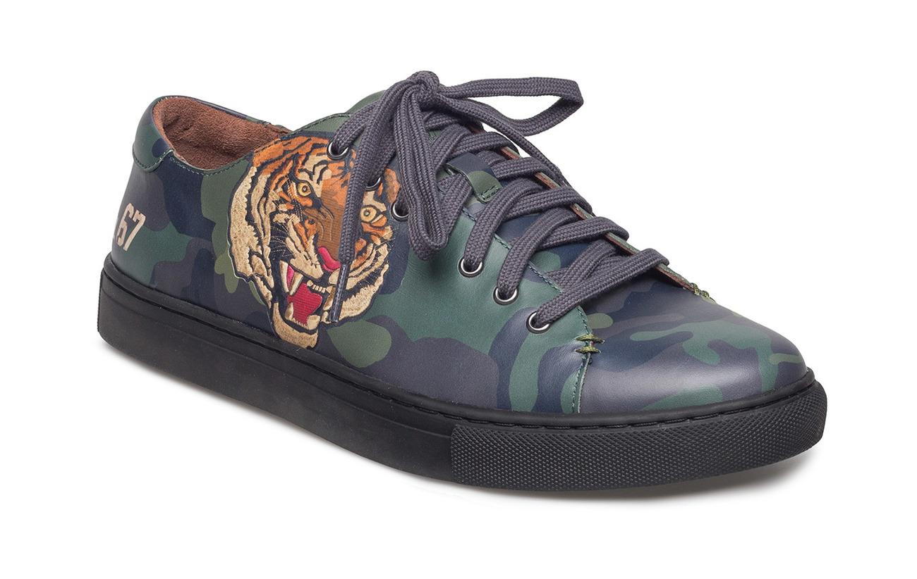 SOFT BURNISHED JERMAIN - Sneaker low - olive jhcGJm9