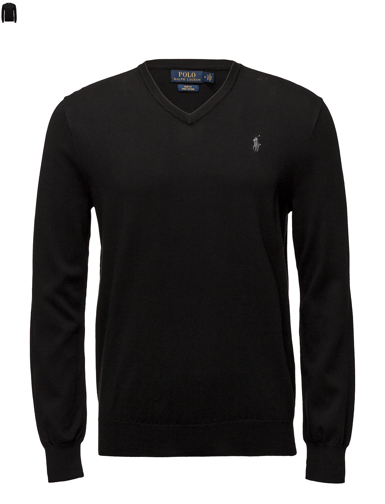 Black Polo Sweater