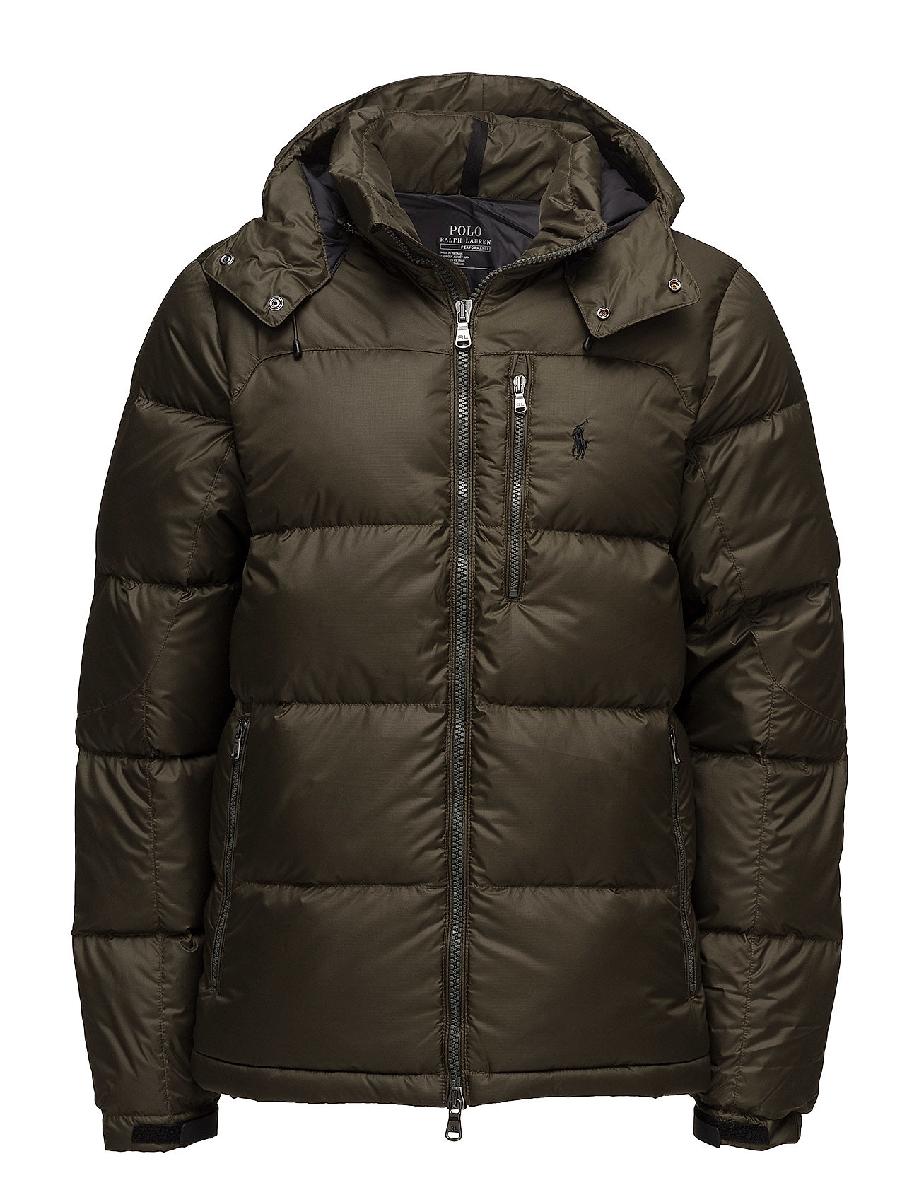 Quilted Ripstop Down Jacket Dark Loden 2936 50 Kr