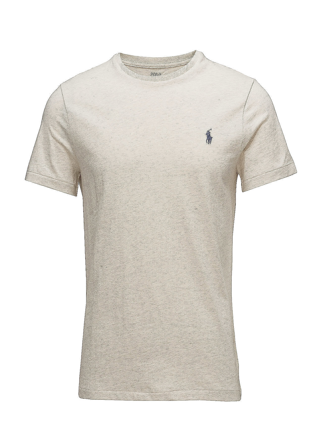Custom slim fit cotton t shirt new sand heather 49 for Polo custom fit t shirts