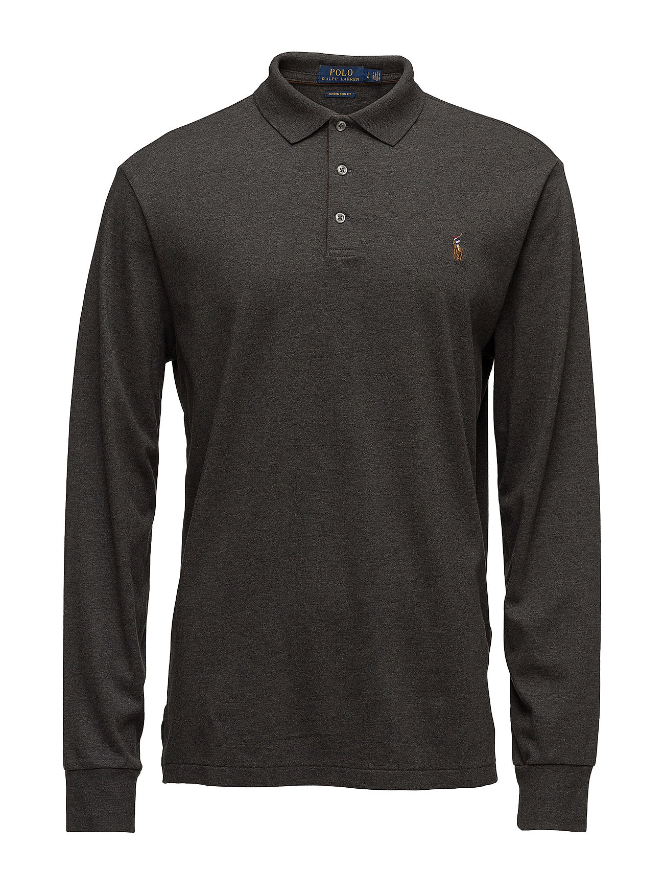 polo ralph lauren long sleeve polo shirt in slim fit