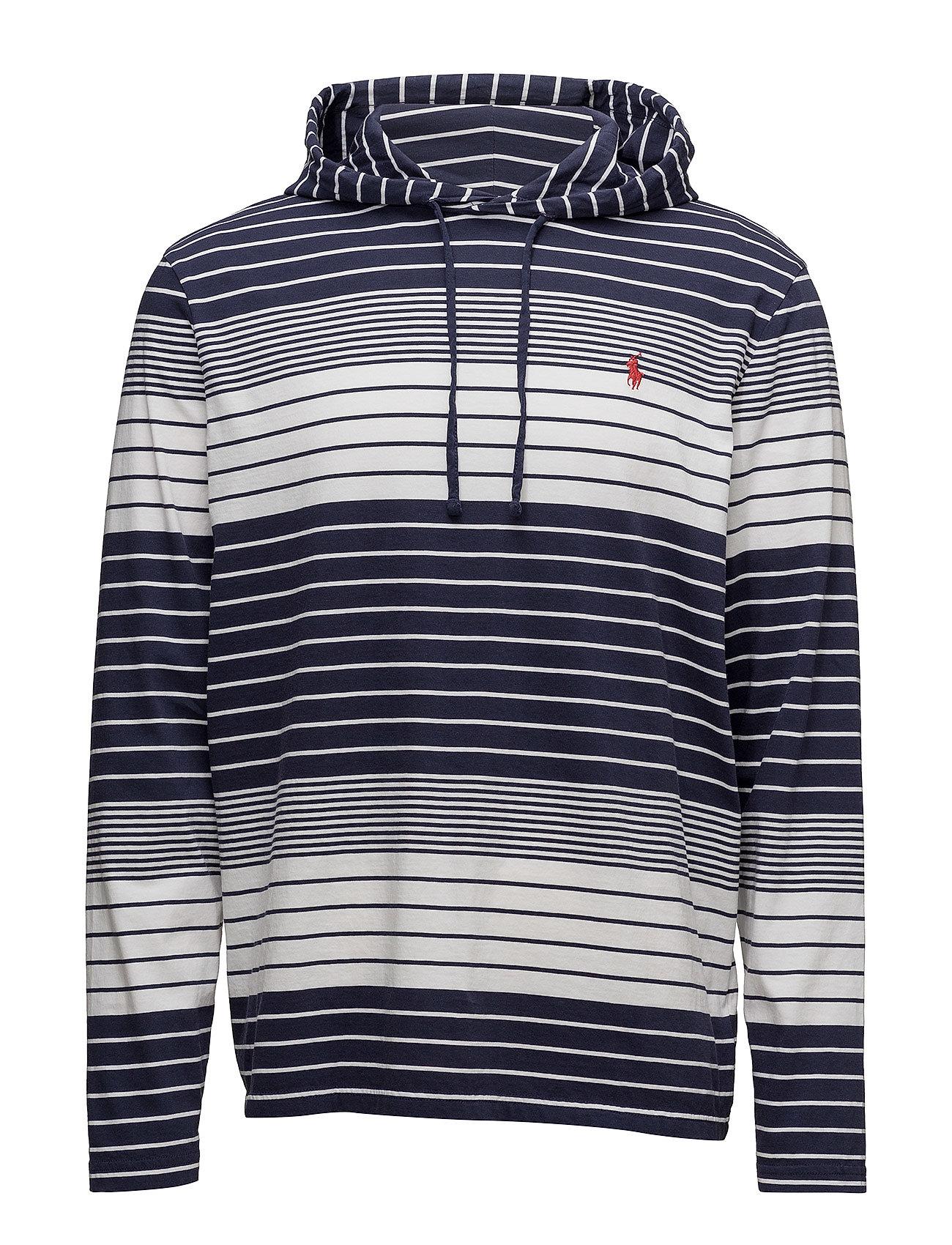 polo ralph lauren striped hoodie.