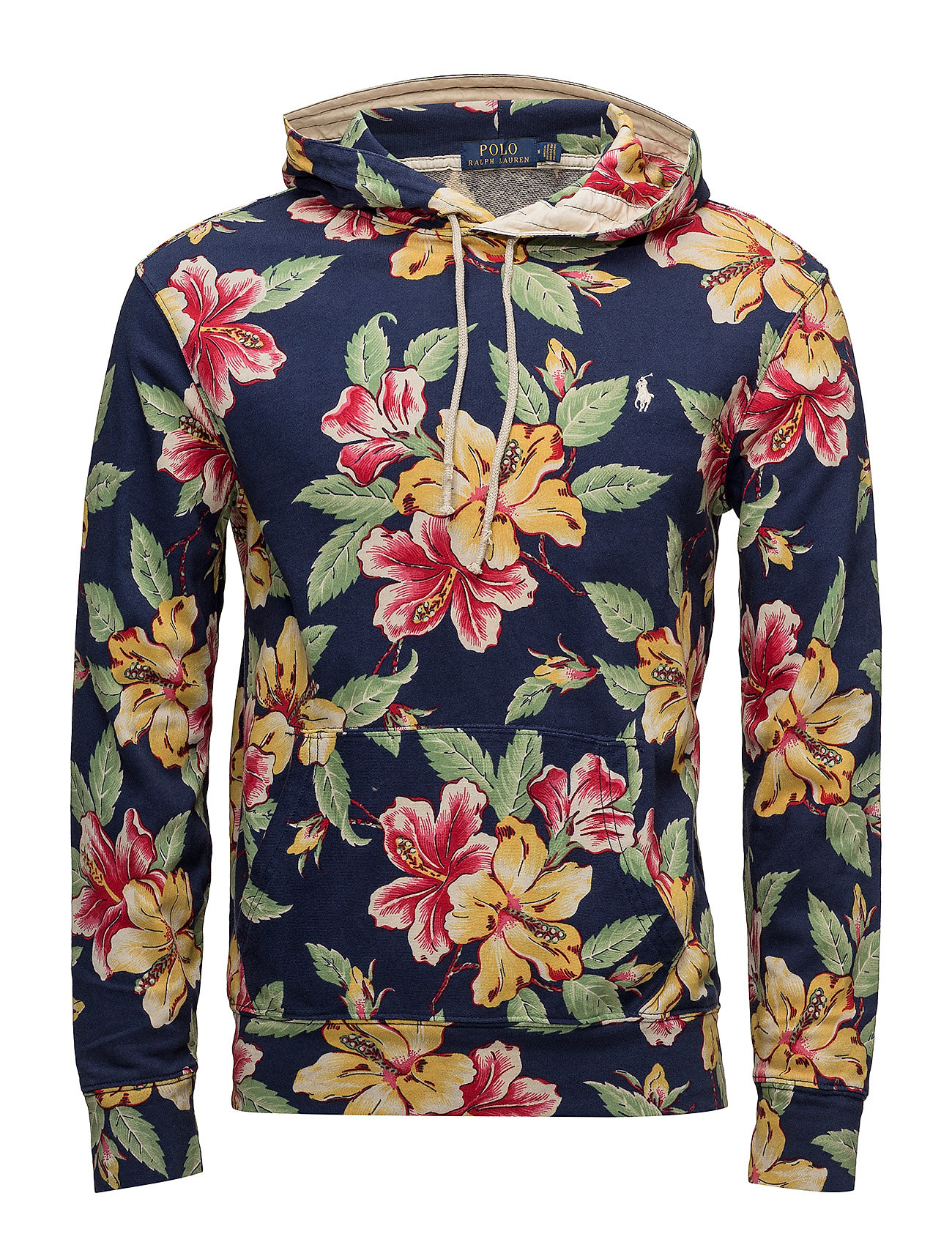 floral cotton spa terry hoodie vintage hibiscus 149. Black Bedroom Furniture Sets. Home Design Ideas