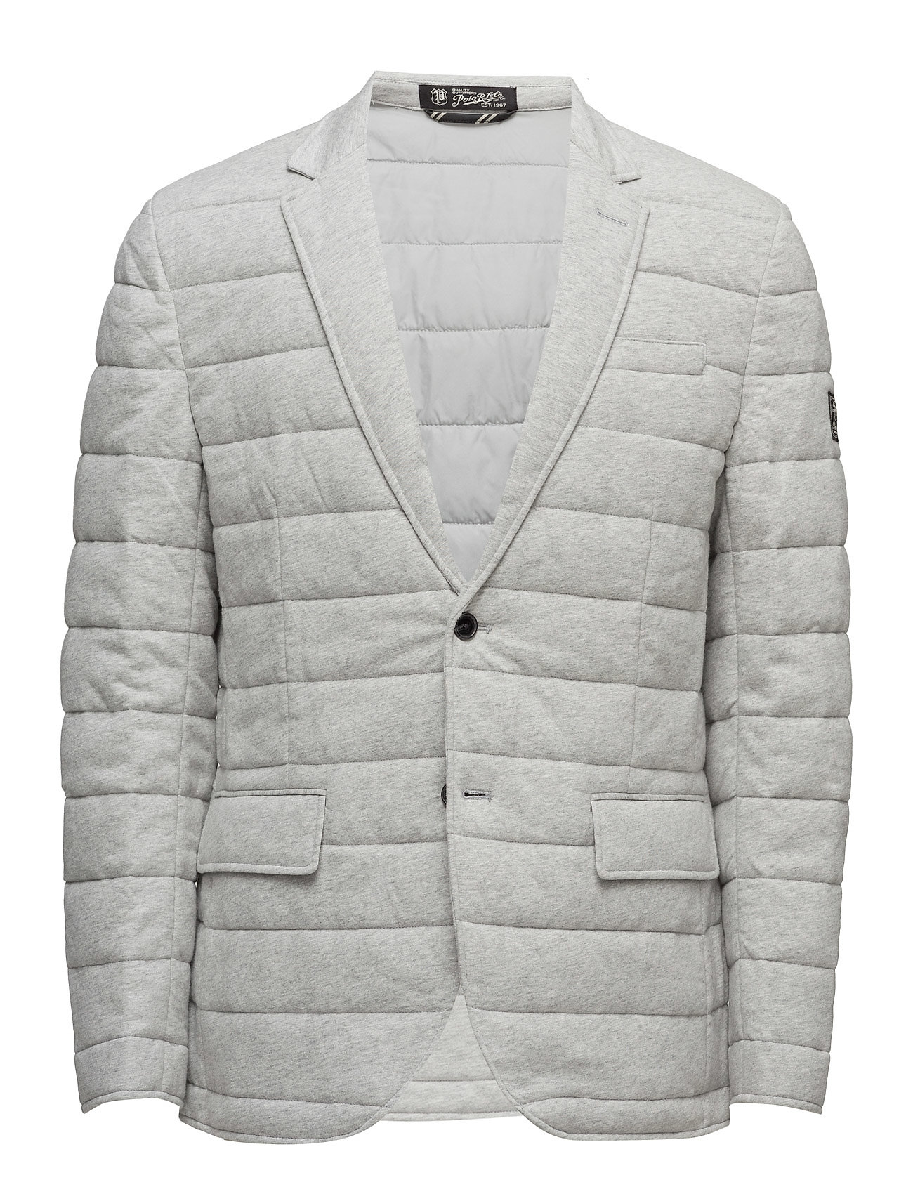 Quilted Cotton Jersey Jacket (Spring Heather) (£164.45) - Polo ... : polo ralph lauren quilted - Adamdwight.com