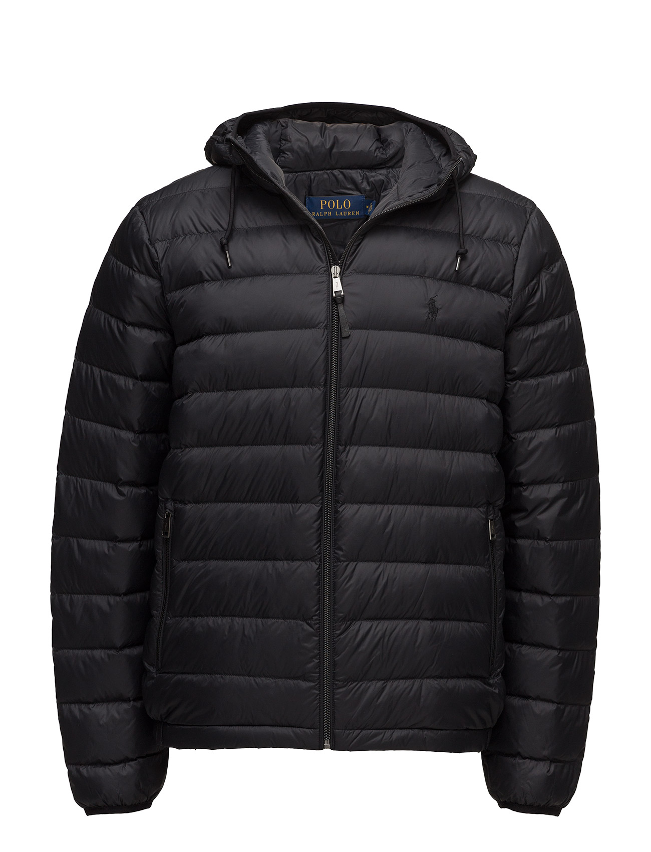 packable hooded down jacket polo black 299 polo. Black Bedroom Furniture Sets. Home Design Ideas