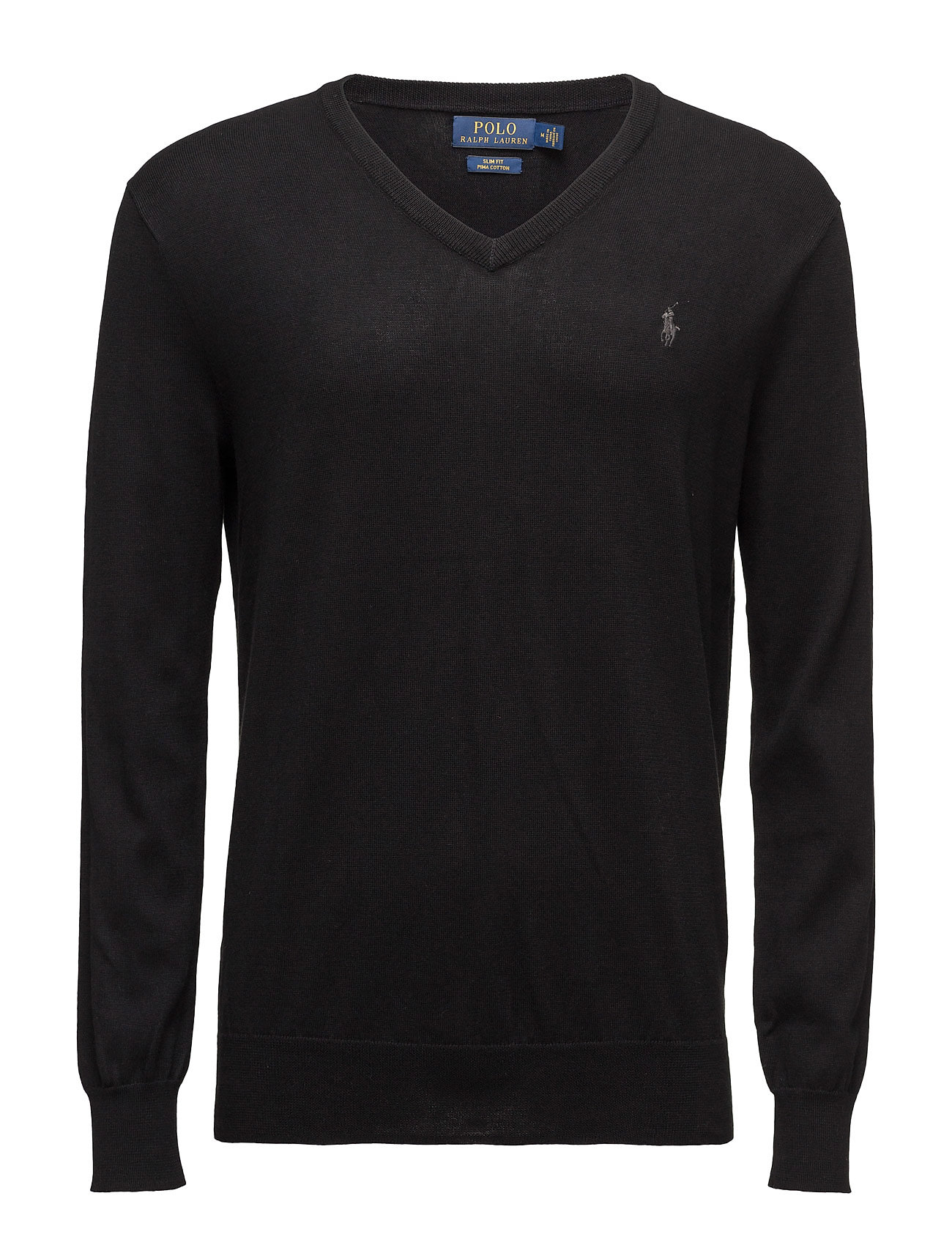 Polo Ralph Lauren Slim Fit Pima Cotton V-Neck Sweater