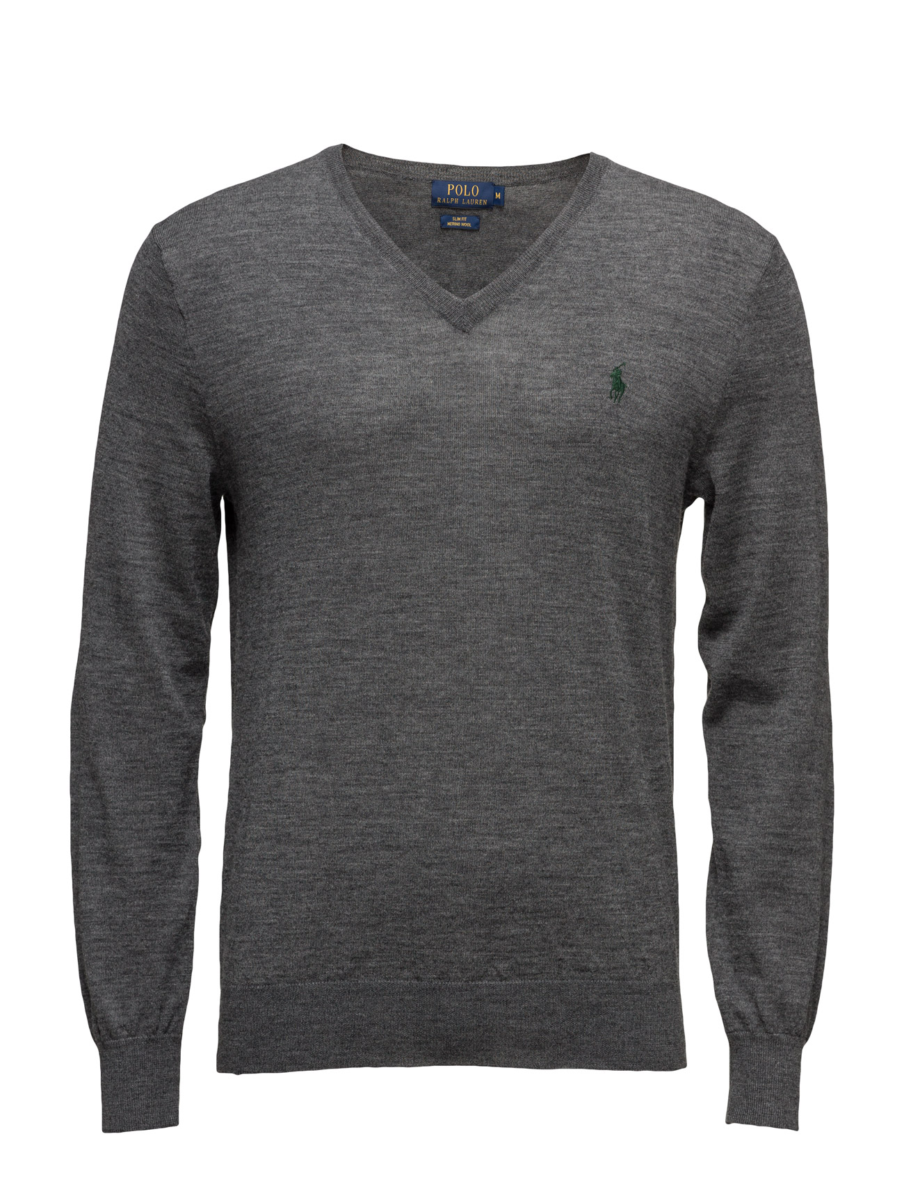 Slim Fit Merino Wool V-Neck Sweater ...