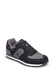 SUEDE/MESH-SLATON PONY-SK-ATH - BLACK/CHARCOAL GR