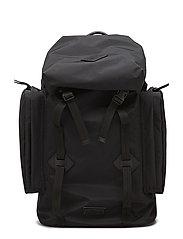 Nylon City Explorer Backpack - BLACK