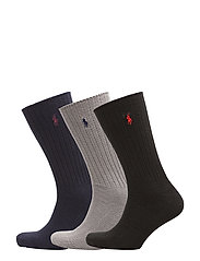 Trouser Sock 3-Pack - NAVY ASSORTED