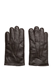 NAPPA SHEEPSKIN-TOUCH GLOVE LEATHER - BROWN