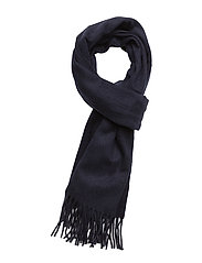 CASHMERE BLEND-LUX STAPLE-OBS-CSH - HUNTER NAVY