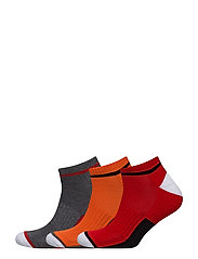 COTTON-COLORBLOCK-PED-3PK - GREY ASSORTED