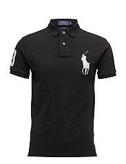 Slim Fit Big Pony Polo Shirt - POLO BLACK/WHITE