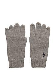 Merino Wool Gloves - FAWN GREY HEATHER