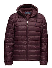 Packable Down Jacket - AUTUMN WINE
