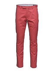 Stretch Slim Fit Chino - NANTUCKET RED