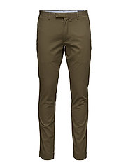 TAILORED SLIM FIT HDN PANT - CROCODILE