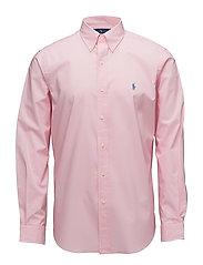 Classic Fit Poplin Sport Shirt - CARMEL PINK