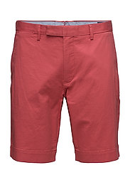 Stretch Slim Fit Chino Short - NANTUCKET RED