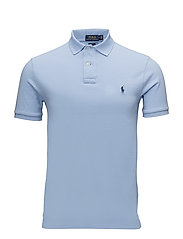 Slim Fit Weather Mesh Polo - AUSTIN BLUE