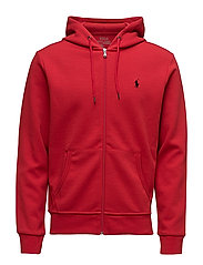 Double-Knit Full-Zip Hoodie - RALPH RED