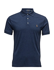 Slim Fit Soft-Touch Polo - MONROE BLUE HEATHER
