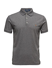 Slim Fit Soft-Touch Polo - FOSTER GREY HEATHER