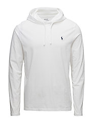 Cotton Jersey Hooded T-Shirt - WHITE/NAVY PP