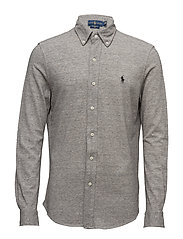 Featherweight Mesh Shirt - DARK VINTAGE HEAT