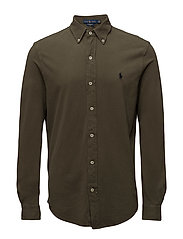 Featherweight Mesh Shirt - DEFENDER GREEN