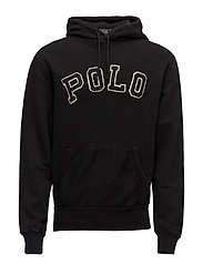 Fleece Hoodie - POLO BLACK