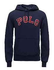 Cotton-Blend-Fleece Hoodie - CRUISE NAVY