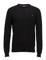 LORYELLE WOOL-LS CN PP - POLO BLACK