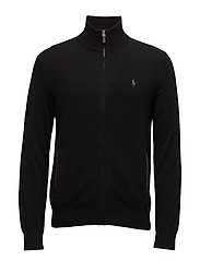 LORYELLE WOOL-LS FZ PP - POLO BLACK