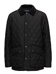 The Iconic Quilted Car Coat - POLO BLACK