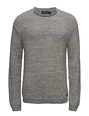Cotton Rollneck Sweater - GREY RAGG