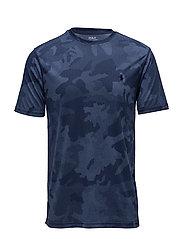 Camo Performance T-Shirt - NAVY HEX CAMO