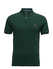 Custom Slim Fit Weathered Mesh Polo - NORTHWEST PINE