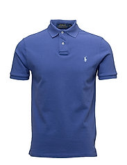 Custom Slim Fit Weathered Mesh Polo - PROVINCETOWN BLUE