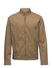 Cotton Twill Jacket - LUXURY TAN