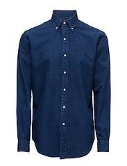 Cotton Oxford Sport Shirt - INDIGO