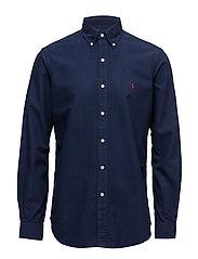 Cotton Oxford Sport Shirt - WINDSOR NAVY