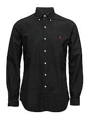 Cotton Oxford Sport Shirt - RL BLACK