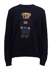 The Iconic Polo Bear Sweater - NAVY