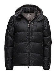 Water-Repellent Down Jacket - POLO BLACK