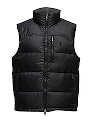 Packable Down Vest - POLO BLACK
