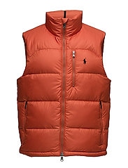 Packable Down Vest - GEAR ORANGE