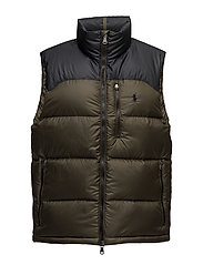 Packable Down Vest - POLO BLACK/DARK L